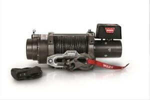 Warn M15 S 15000 Lb Winch 80 3 8 Spydra Synthetic Rope Heavy Series 97730