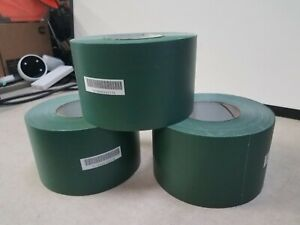 Lot Of 3 Skilcraft 75100007451 Waterproof Packing Tape Green 4 X 60yd 1 Roll
