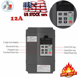 2 2kw 3hp Variable Frequency Drive Inverter Single Phase Motor Speed Control Us
