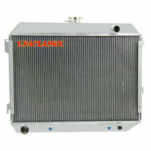 3row Aluminum Radiator For Dodge Mopar Plymouth Cars 26 Wide V8 At Mt 68 74 Us