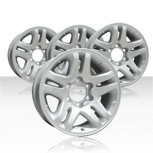 Revolve 17x7 5 Sparkle Silver Wheel For 2003 2006 Toyota Tundra Set Of 4