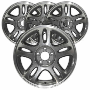 17 Machined Rim By Jte For 1996 1998 Ford Mustang Gt 17x8 Set Of 4