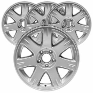17 Painted Silver Rim By Jte For 2005 2008 Chrysler 300 17x7 Set Of 4