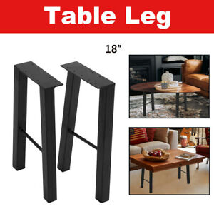 16 Industry Table Leg Metal Steel Chair Bench Legs Diy Furniture Black Us Stock