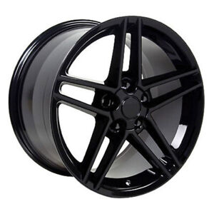 Black Wheel 17x9 5 For 1993 2002 Chevy Camaro Owh0287