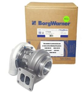 Borgwarner S200sx Turbo 177258 83 A R T4 Twin Scroll W Vband Exit 580 Hp