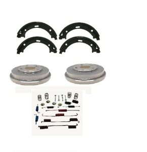 Drum Brake Kit Fits 2006 2015 Honda Civic Includes Shoes Drums And Spring Kit
