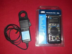 Otc 3505a Automotive Multimeter Volt Meter And 3174 Current Probe Amp Clamp