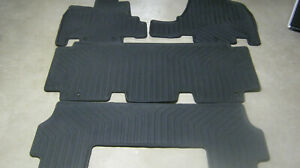 2011 2012 2013 2014 2015 2016 2017 Honda Odyssey All Season Floor Mats Set Oem