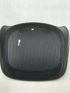 Herman Miller Aeron Chair Size B Graphite Seat Frame And Mesh With Small Blemish