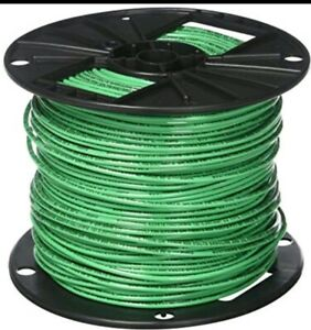 Southwire 500 Ft 12 Awg 12 Ga Gauge Green Stranded Thhn Wire