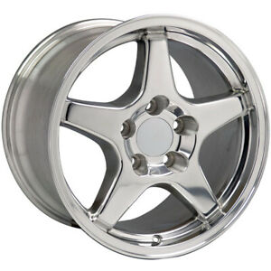 Polished Wheel 17x9 5 For 1993 2002 Chevy Camaro Owh0121