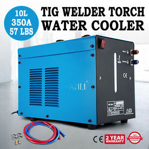 Tig Welder Torch Water Cooler 10l Tank Wearability Quick Couplers Fast Delivery