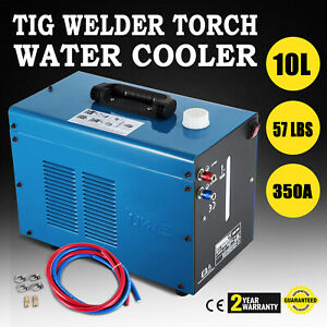 Tig Welder Torch Water Cooler 10l Tank Quick Couplers Easy Installation
