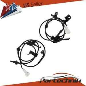 2pcs Front Left Right Abs Wheel Speed Sensor For 08 09 Scion Xd Toyota Yaris