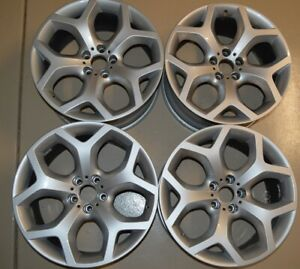 Set Of 4 Bmw X5 X5m X6 X6m 2011 2015 20 Factory Oem Staggered Wheels Rims