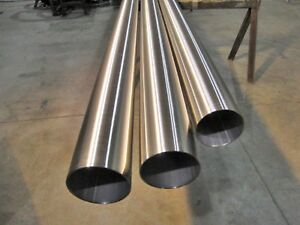 Polished Stainless Steel Round Tube 2 X 120 X 36