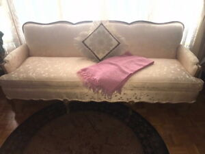 Antique Couch 2 Chairs Queen Anne Legs Lamps Pick Up Only Sw Suburb Chicago