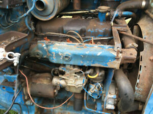 Ford 4000 3 cylinder Good Running Gas Tractor Engine