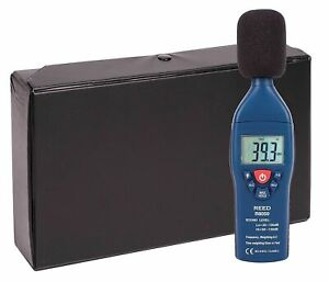 Reed R8050 Sound Level Meter Data Hold Function 35 To 135 Db Decibel W Manual