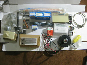 Huge Lot Hvac Parts Furnace A c Thermostat Motors Capacitors Coil Supplies