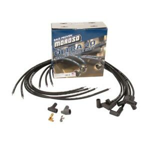 Moroso 73800 Ultra 40 Universal Race Wires Blue 90 Degree