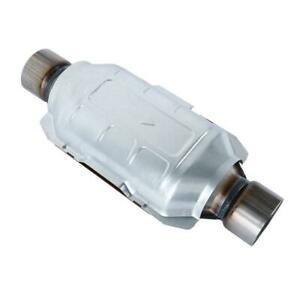Universal 2 5 Catalytic Converter For Chevrolet Gmc Ford Buick Cadillac Lexus