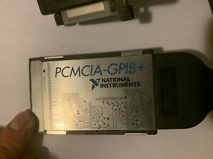 Ni National Instruments Single Card Gpib Interface And Analyzer Cable Used