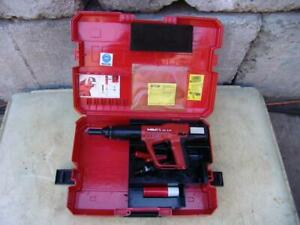 Hilti Dx A41 Powder Actuated Nail Stud Gun Works Great