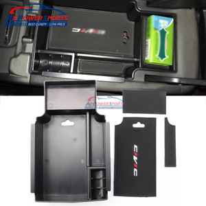 For 2012 2015 Honda Civic Central Armrest Storage Box Console Organizer Holder