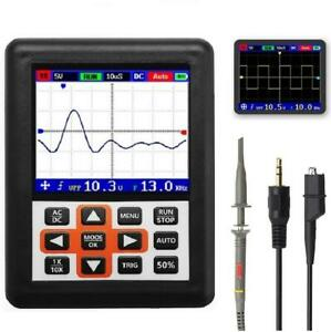 Dso338 Handheld Oscilloscope 30mhz Bandwidth 200m Sampling Rate 2 4 Inch Ips Scr