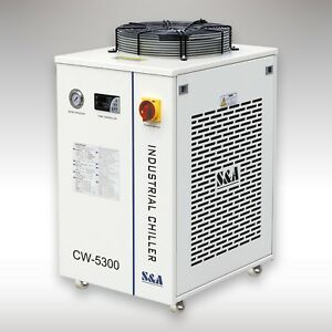 110v S a Cw 5300di Industrial Water Chiller For 200w Co2 Laser 18kw Cnc Spindle