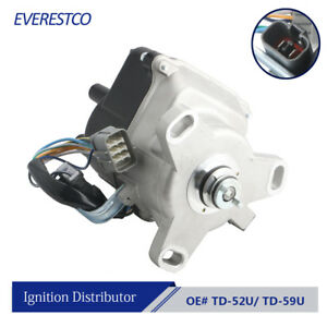 Ignition Distributor For 1992 1995 Honda Accord Prelude External Coil 2 2l Td59u