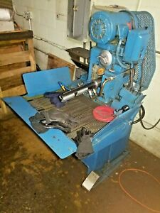 Sunnen Precision Honing Machine Model Mbh 1290d With Tooling And Extras