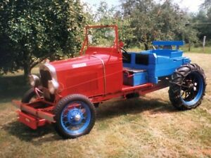 1930 Ford Model A Car tractor Built From Autotrac Otaco Coversion Kit