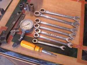 Mixed Lot Of Hand Tools Proto Snap On Craftsman Ratchet Wrenches Armstrong