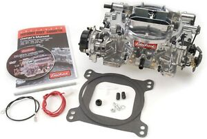 Edelbrock 1803 Thunder Series Avs 500 Cfm Carburetor Electric Choke