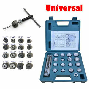 Universal Valve Seat Reamer Motorcycle Repair Displacement Cutter Tool Trim Kit