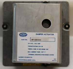 Barber coleman Actuator Mf 1233 0 0 2 New Old Stock