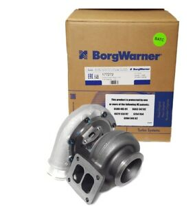 Borgwarner S300sx3 60mm Turbo 177272 91 A R T4 Twin Scroll W V Band Exit