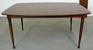 Mid Century Danish Modern Walnut Surfboard Dining Table