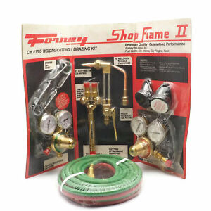 New Open Box Forney 1705 Oxy Acetylene Medium Duty Welding Kit