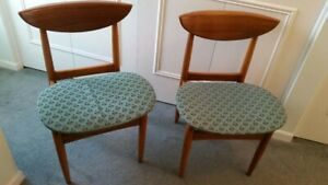 Mid Century Danish Modern Perception Chairs Lane Furniture