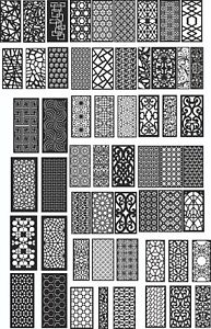 Dxf Of Plasma Router Laser Cut cnc Vector Dxf 500 Items
