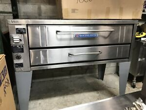 4151 Bakers Pride Gas Single Deck Pizza Oven Includes Free Shipping