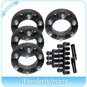 4p 1 5 Thick 6x139 7 Wheel Spacers 20 Pc Lug Nuts 2 Key For Toyota 4runner