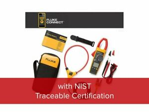 Fluke 376 Fc nist 1000a Ac dc True rms Wireless Clamp Meter With Iflex And Nist