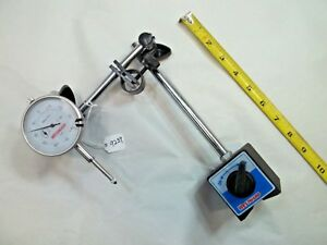 Westward Nice Machinist 0 1 Dial Indicator 001 With Magnetic Base Stand