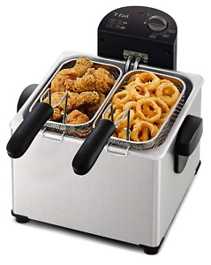 4 Liter Commercial Deep Fryer Drain Fast Food French Fry Electric Frying Cooker