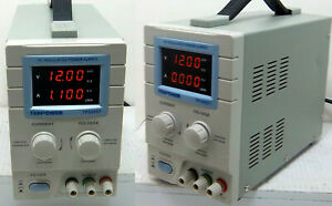 Tekpower Tp3005t Variable Dc Benchtop Power Supply 0 30v 0 5a Free S